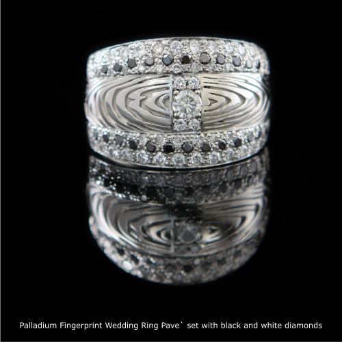 Fingerprint Wedding Rings on Fingerprint Rings
