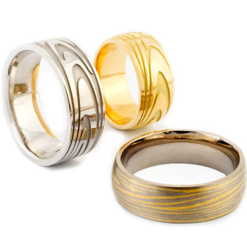 HOME CUSTOM DESIGN FINGERPRINT WEDDING RINGS FINGERPRINT RANGE